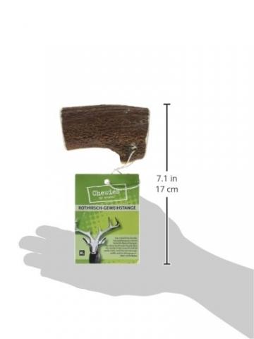 Chewies Rothirsch-Geweihstange, XL, 1er Pack (1 x 160 g) - 3